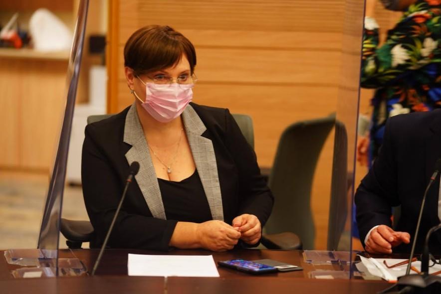 טלי פלוסקוב בוועדת החוקה